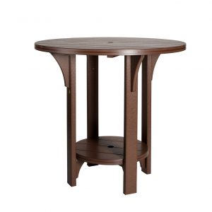Finch Great Bay Round Poly Table Dining Height
