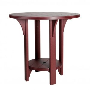 Finch Great Bay Round Poly Dining Table