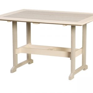"""Finch Great Bay Poly Table 43"""" x 60"""""""