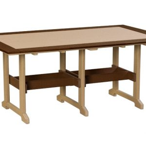 Finch Outdoor Poly Great Bay Table 43 x 72