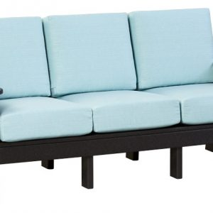 Finch Outdoor Poly Mission Sofa