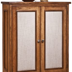 Metro Cupboard w/Upholstered Doors