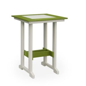 Finch Great Bay Square Poly Table Bar Height