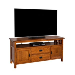Craftsman Mission TV Console