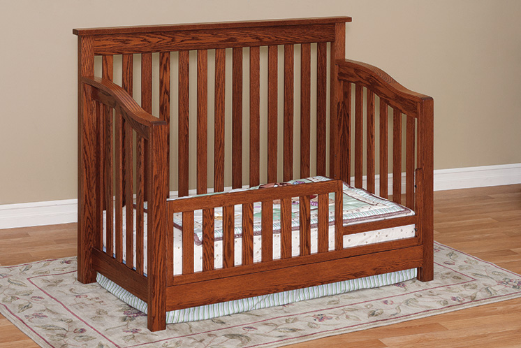 Mission Crib With Conversion Package Martin S Furniture