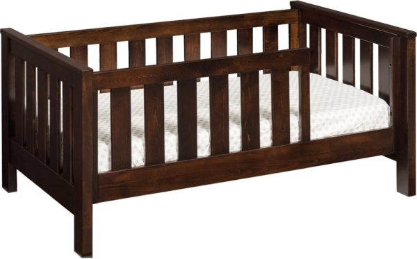Toddler Bed with Slats