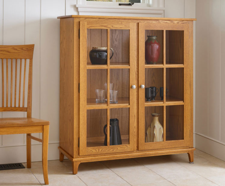 handmade display cabinet
