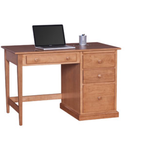 Shaker Student Desk with Side Panels Solid