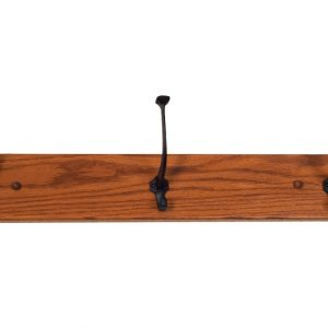 "40"" Hat Rack with Four Hooks"