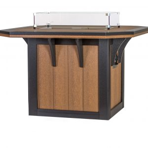 Finch Poly 4' x 4' SummerSide Fire Table