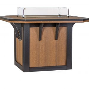 Finch Outdoor Poly 4' x 4' SummerSide Fire Table