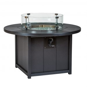 Finch Outdoor Poly SeaAira Round Fire Pit