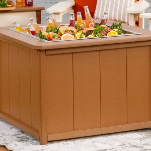 Finch Outdoor Poly Square SeaAira Ice Pit