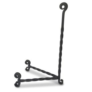 Twisted Wrought Iron Easel