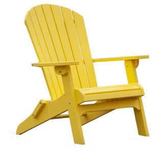 Daybreak Outdoor Poly Adirondack Folding Chair