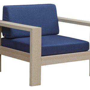 Daybreak Outdoor Poly Alfresco Deep Seating Chair - Frame Only