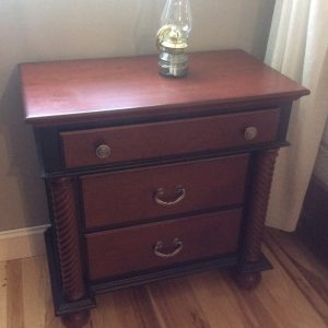 Corinthian Column Small Chest of Drawers