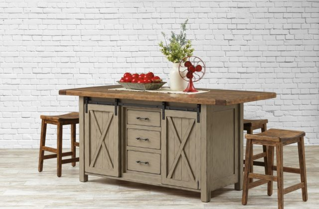 3 Handcrafted Kitchen Island Styles