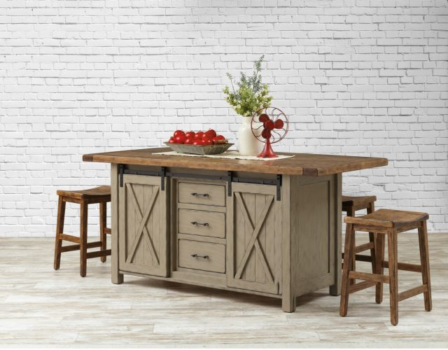 3 Handcrafted Kitchen Island Styles | Furniture Design ... on french provincial kitchen table, mobile home remodeling ideas, cottage kitchen table, cabin kitchen table, apartment kitchen table, money on kitchen table, modular kitchen table,