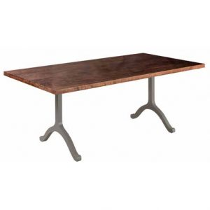 Backless Bench with Steel Strada Base