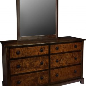 Chesapeaka Amish 6- Drawer Dresser
