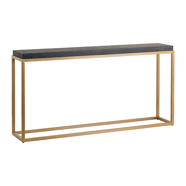 Georgetown Amish Console Table with Steel Base | Martin's Furniture