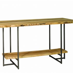 Bar Table with Steel T Base