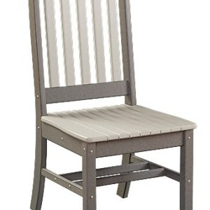 Daybreak Outdoor Poly Conestoga Side Chair