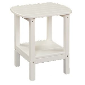Daybreak Outdoor Poly 2- Tier Oval Side Table