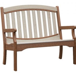 Daybreak Outdoor Poly Chelsea 4' Garden Bench
