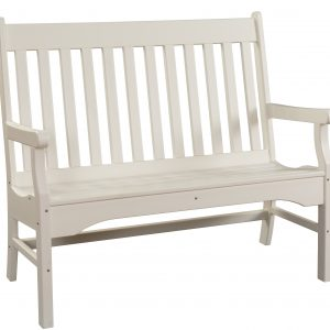 Daybreak Outdoor Poly Conestoga Garden Bench