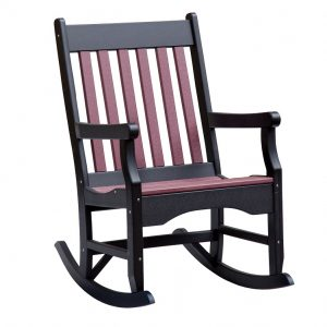 Daybreak Outdoor Poly Conestoga Garden Rocker