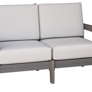 Daybreak Outdoor Poly Deep Seating Stanton Loveseat - Frame Only