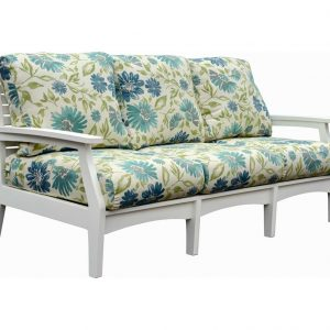 Daybreak Outdoor Poly Deep Seating Stanton Sofa - Frame Only