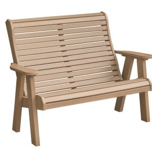 Daybreak Outdoor Poly Rollback 4′ Bench