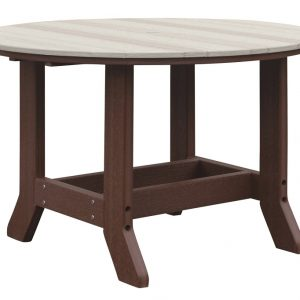 Daybreak Outdoor Poly Smithfield Round Dining Table