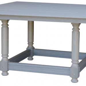 Daybreak Outdoor Poly Square Kingston Trestle Dining Table