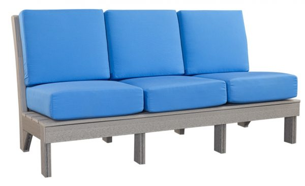 Finch Outdoor Poly Center Mission Sofa