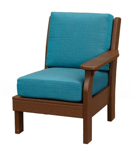 Finch Outdoor Poly Van Buren Right Arm Chair
