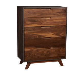 Flynn 5- Drawer Up-Right Chest of Drawers