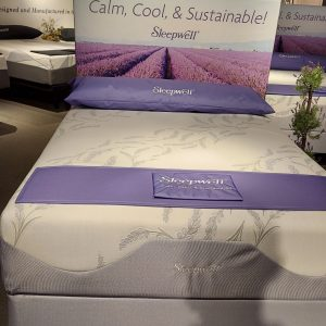 Sleepwell Lavender Firm Hybrid Collection with Active Cooling Cover