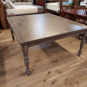 Barkman Tiger Maple Extension Dining Table with 2- 18 Company Boards