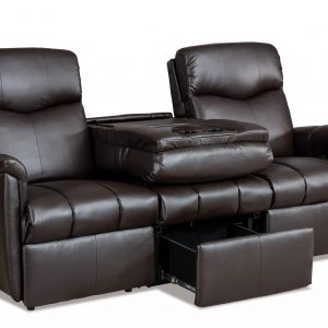 Lambright Reclining Signature Sofa with Fold Down Center Console and Under Drawer Storage