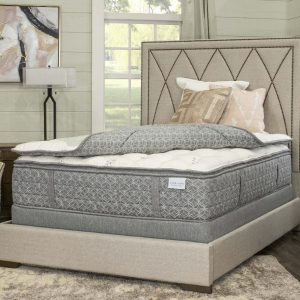 Paramount Sleep Mattress Topper 1- Sided White or Gray