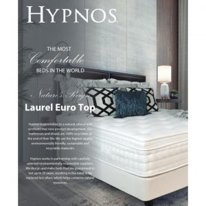 Hypnos - The most comfortable bed in the World - 6768 Nature's Reign Laurel Euro Top